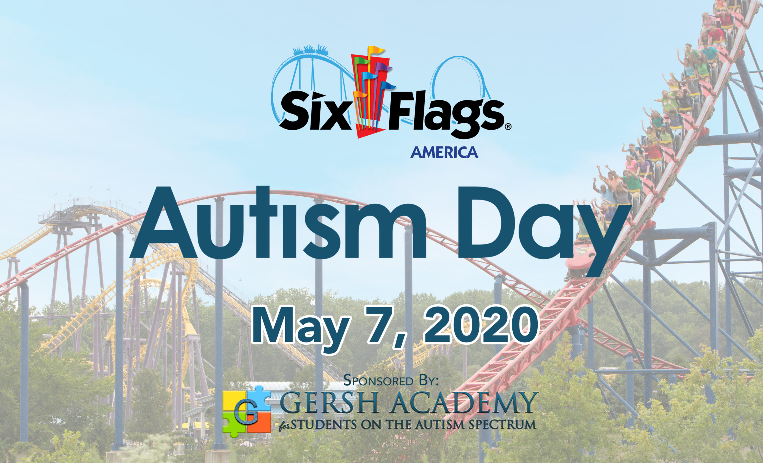 May 7, 2020 – Autism Day at Six Flags America